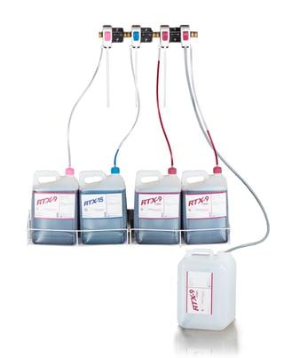 Cleaner dispensing system