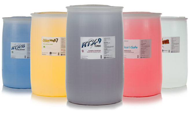 New Product Labels Tell The Story Of Bradley Systems' Commitment To Safe Cleaning